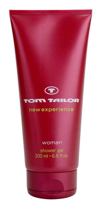 Tom Tailor New Experience Woman gel doccia per donna 200 ml
