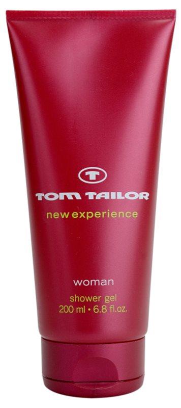 Tom Tailor New Experience Woman sprchový gél pre ženy 200 ml