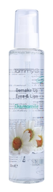Tommy G Chamomile Line odličovací voda na obličej a oči s výtažkem z heřmánku