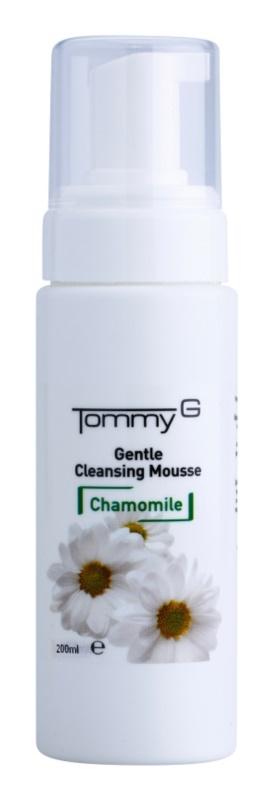 Tommy G Chamomile Line oczyszczająca pianka do demakijażu z rumiankiem