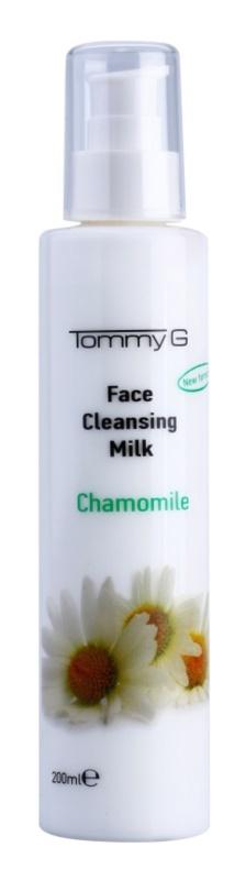 Tommy G Chamomile Line leite de limpeza facial com extrato de camomila