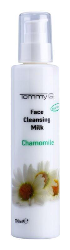 Tommy G Chamomile Line Reinigungsmilch für das Gesicht mit Kamilleextrakt