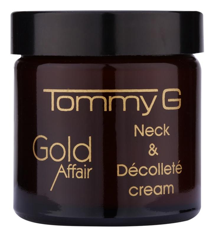 Tommy G Gold Affair omlazující krém na krk a dekolt