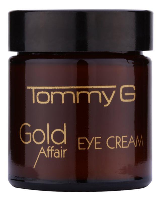 Tommy G Gold Affair rozjasňující oční krém pro omlazení pleti