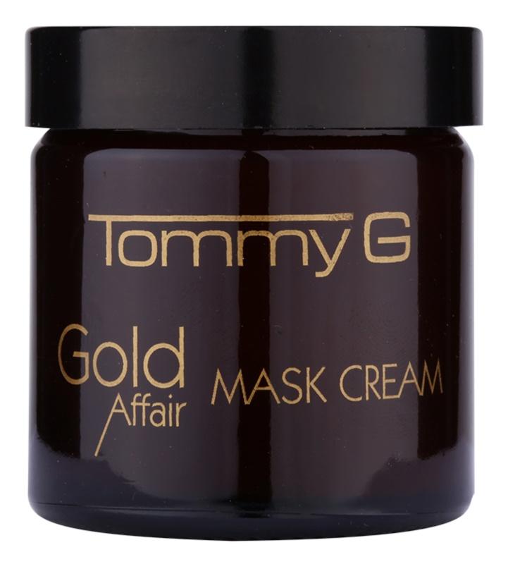 Tommy G Gold Affair hydratační a rozjasňující maska pro citlivou pleť