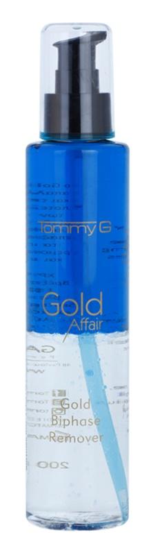 Tommy G Gold Affair dvousložkový odličovač voděodolného make-upu pro citlivé oči