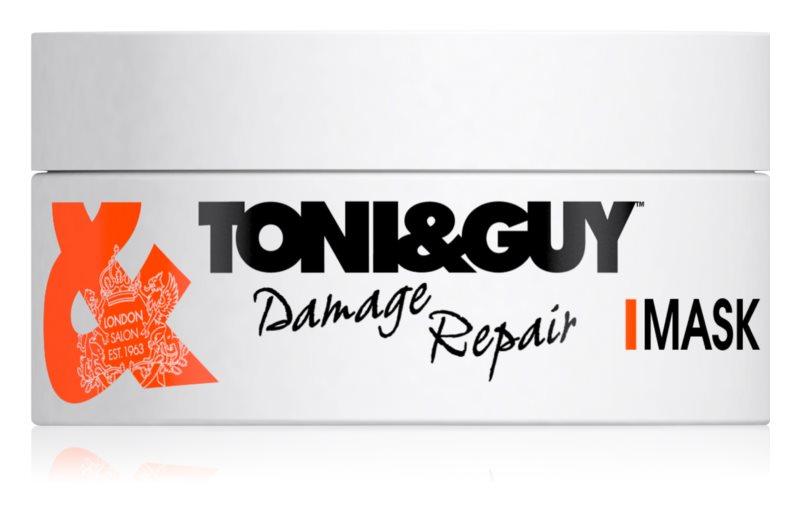 TONI&GUY Nourish megújító maszk a károsult hajra