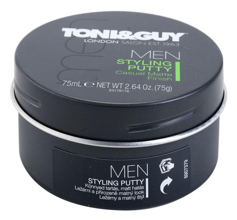 TONI&GUY Men cera de cabelo para aspeto mate