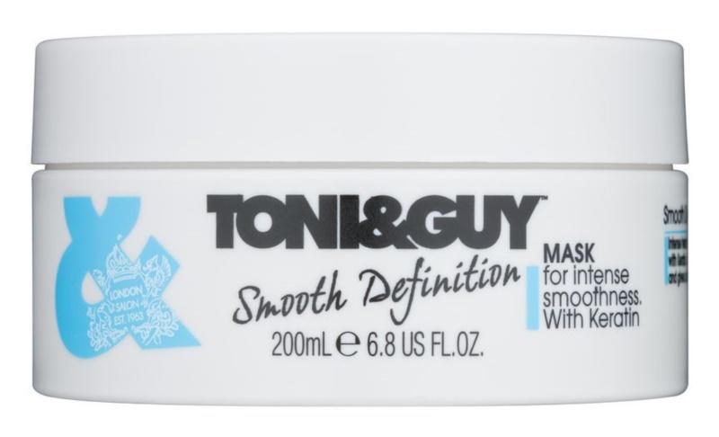 TONI&GUY Smooth Definition maska za glajenje las s keratinom