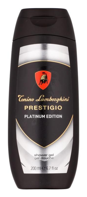 Tonino Lamborghini Prestigio Platinum Edition Duschgel für Herren 200 ml