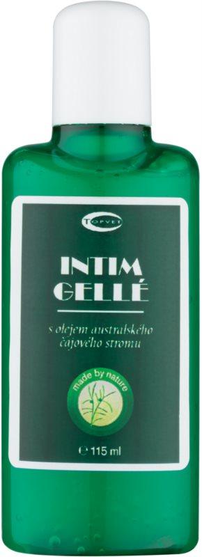 Topvet Tea Tree Oil gel na intimní hygienu