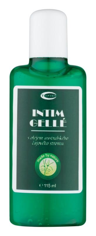 Topvet Tea Tree Oil gél na intímnu hygienu