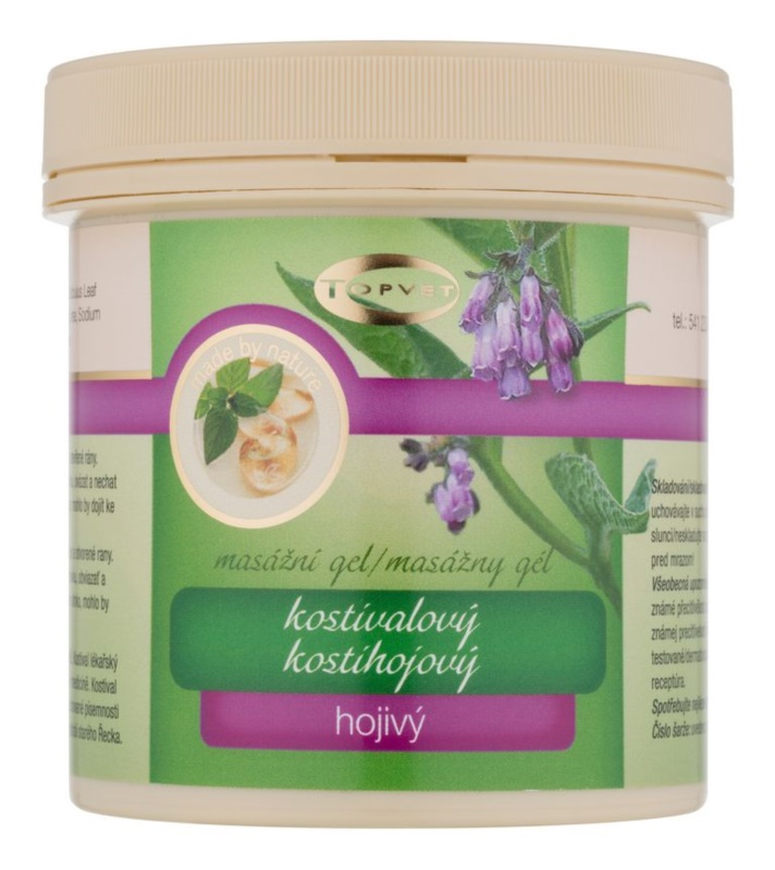 Topvet Body Care gel pentru masaj muschii si articulatiile