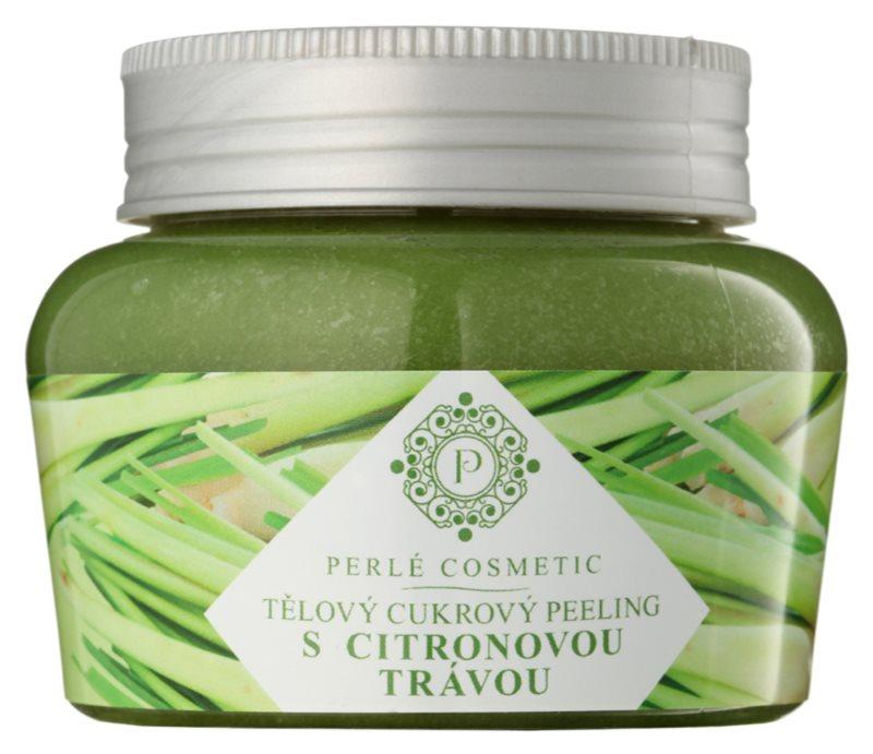 Topvet Body Scrub peeling cukrowy z trawą cytrynową