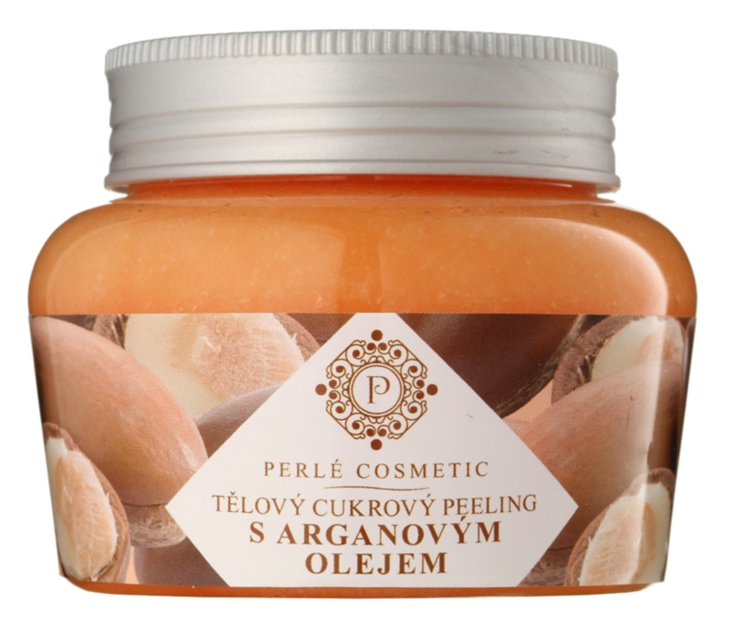 Topvet Body Scrub cukrový peeling s arganovým olejem