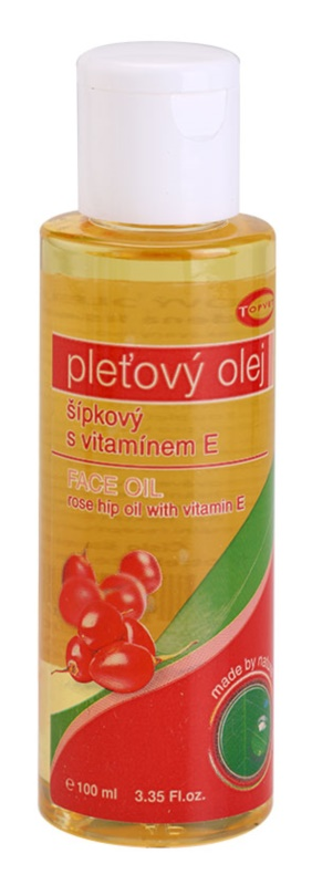 Topvet Face Care Olejek z dzikiej róży z witaminą E