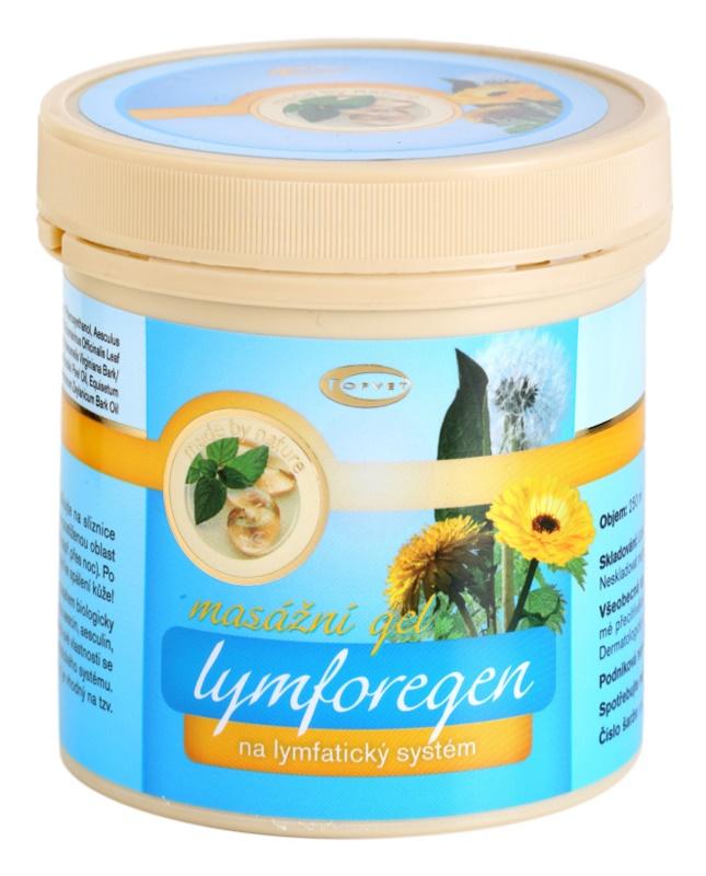 Topvet Lymforegen masažni gel ki pospešuje regeneracijo po povečani telesni aktivnosti