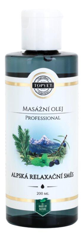Topvet Professional relaksacijsko masažno olje