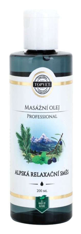 Topvet Professional relaxační masážní olej