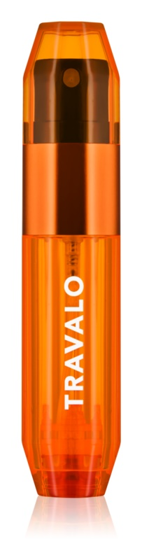 Travalo Ice vaporizador de perfume recargable unisex 5 ml  Orange