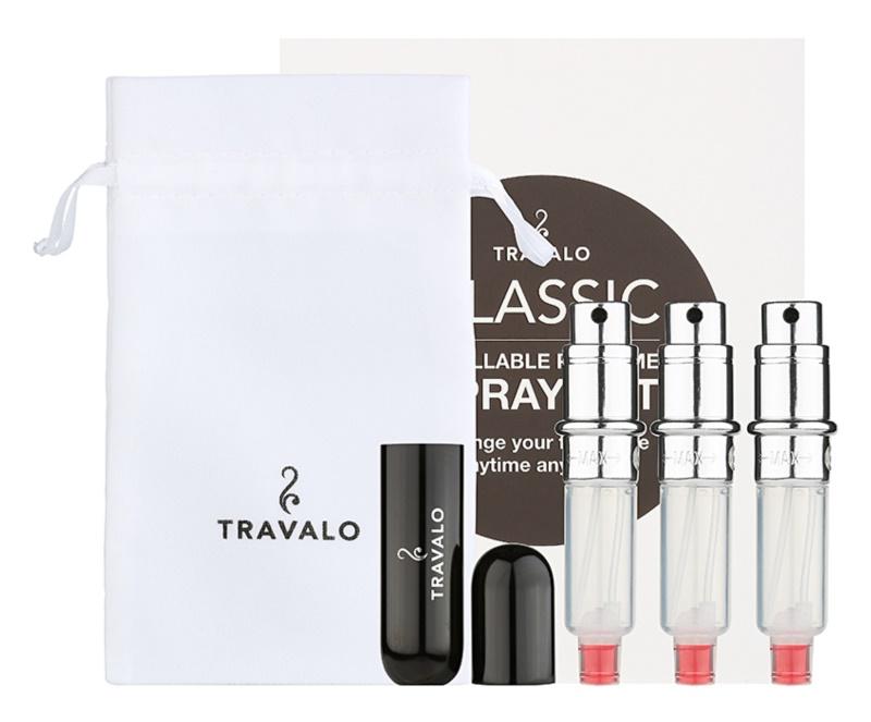 Travalo Classic HD Gift Set III Black