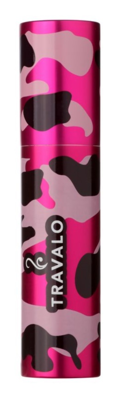 Travalo Classic plastic case for refillable atomiser unisex    Camouflage Pink