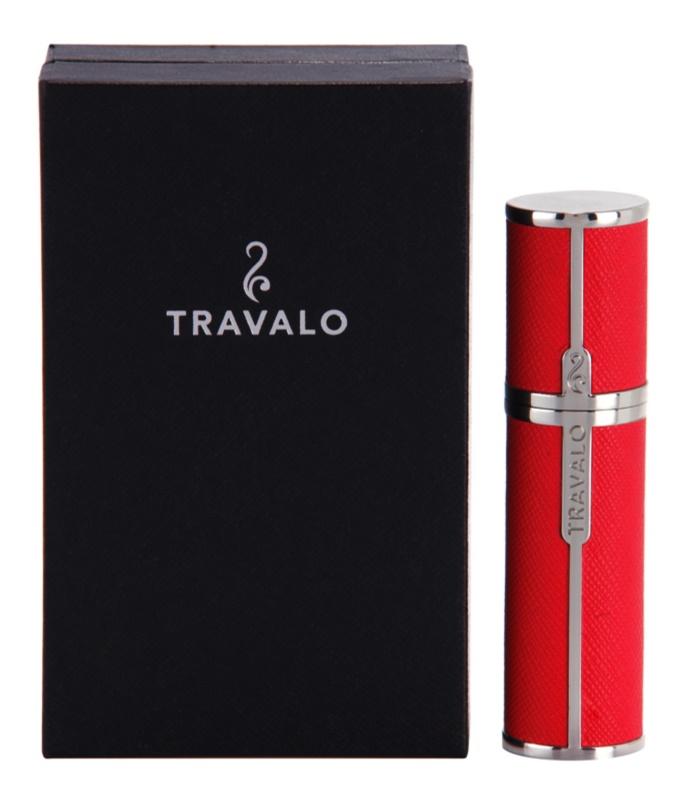 Travalo Milano plnitelný rozprašovač parfémů unisex 5 ml  Hot Pink