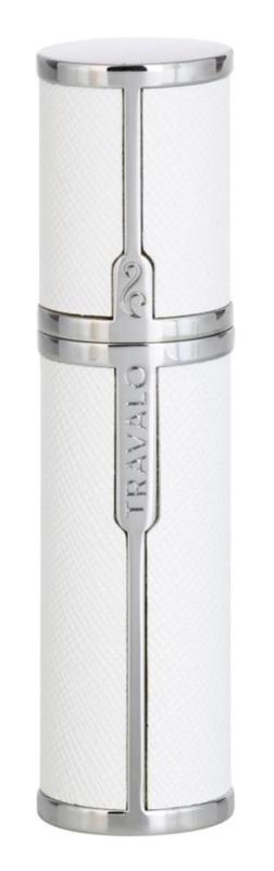 Travalo Milano міні-флакон для парфумів унісекс 5 мл  White