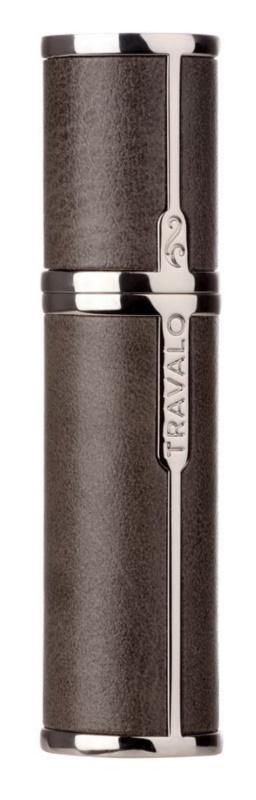 Travalo Milano Case U-change kovový obal na plniteľný rozprašovač parfémov unisex    Grey