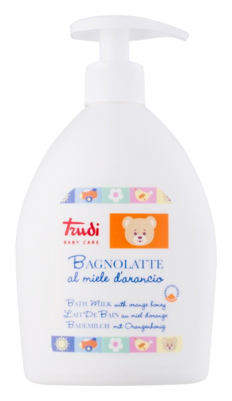 Trudi Baby Care Children's Bath Lotion with Orange Blossom Honey