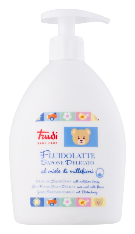 Trudi Baby Care jemné dětské tekuté mýdlo s květinovým medem