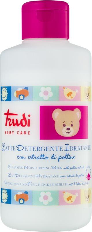 Trudi Baby Care mleczko nawilżająco oczyszczające z ekstraktem z pyłku dla dzieci