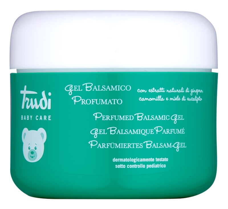 Trudi Baby Care Baby Gel for Better Breathing with Extracts of Juniper, Eucalyptus, Chamomile and Honey