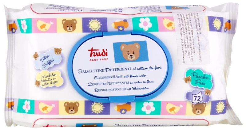 Trudi Baby Care lingettes nettoyantes au nectar de fleurs