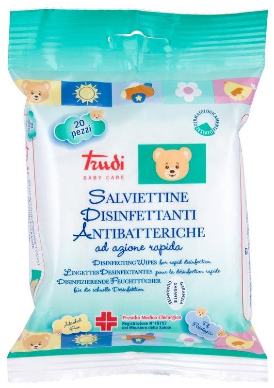 Trudi Baby Care dezinfekční vlhčené ubrousky
