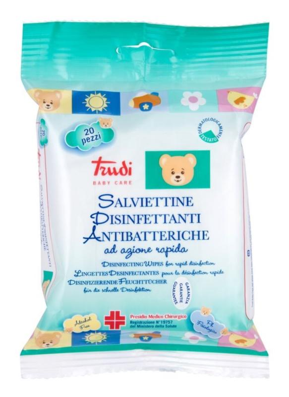 Trudi Baby Care nedves törlőkendők