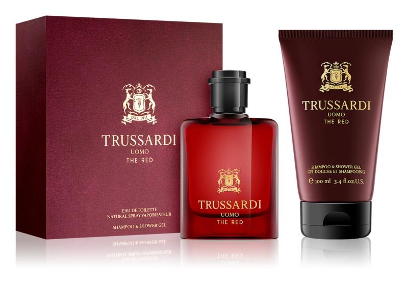 Trussardi Uomo The Red подаръчен комплект I.