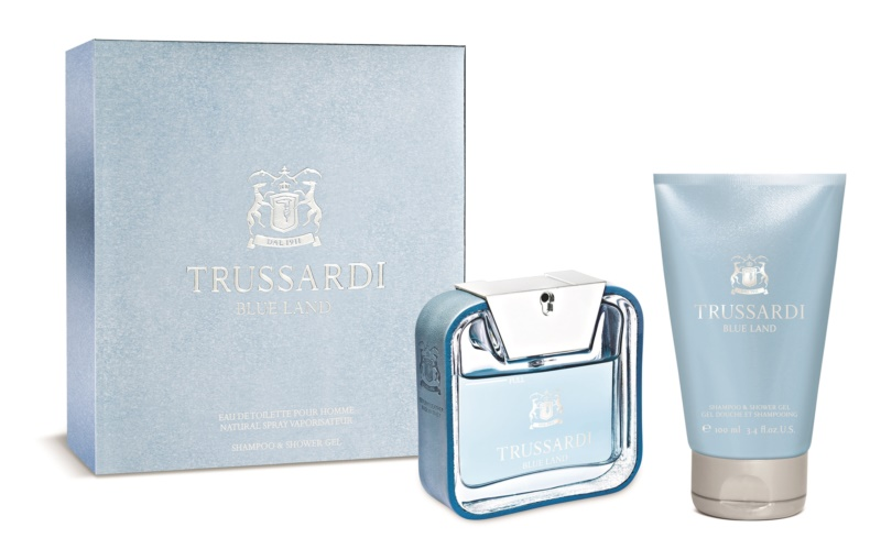 Trussardi Blue Land set cadou I.