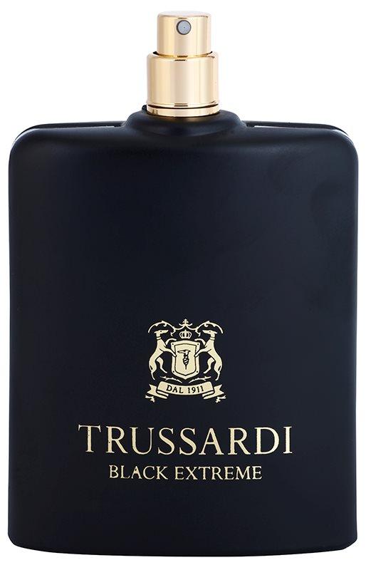 Trussardi Black Extreme туалетна вода тестер для чоловіків 100 мл