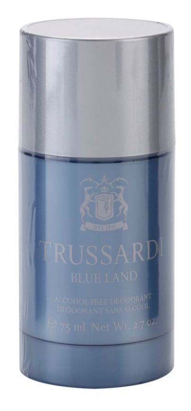 Trussardi Blue Land stift dezodor férfiaknak 75 ml