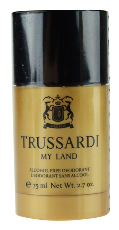 Trussardi My Land deostick pro muže 75 ml