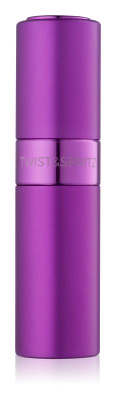 Twist & Spritz Fragrance Atomiser Refillable Atomiser unisex 8 ml  Purple