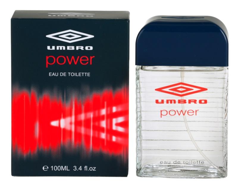 Umbro Power eau de toilette per uomo 100 ml