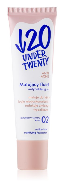 Under Twenty ANTI! ACNE matující make-up SPF 10