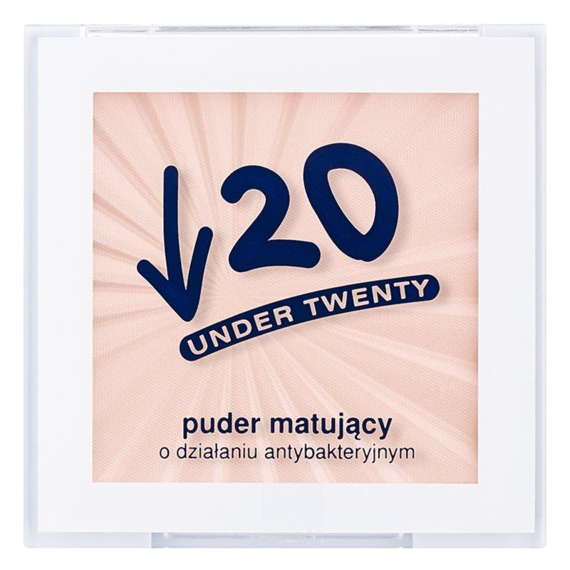 Under Twenty ANTI! ACNE puder matujący do skóry tłustej ze skłonnością do trądziku