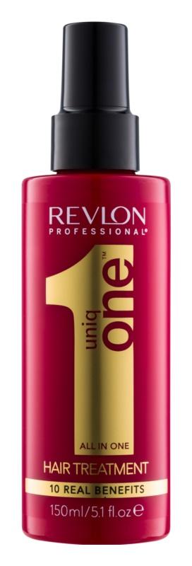 Uniq One All In One Hair Treatment tratamento regenerador  para todos os tipos de cabelos
