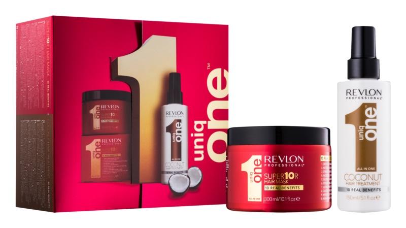 Uniq One All In One Coconut Hair Treatment coffret cosmétique VI.