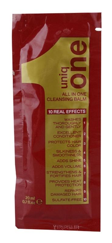 Uniq One All In One Hair Treatment čisticí balzám pro všechny typy vlasů