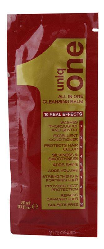 Uniq One All In One Hair Treatment tisztító balzsam minden hajtípusra