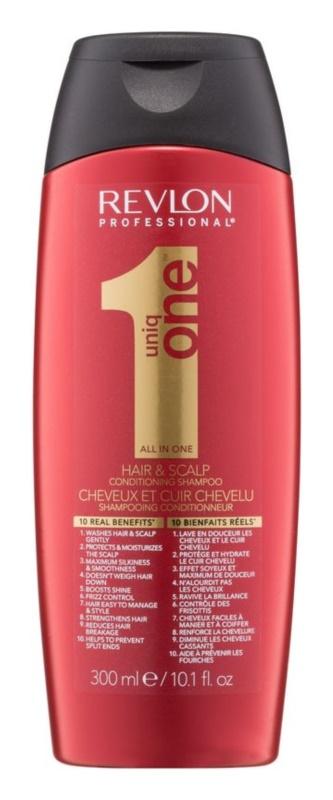 Uniq One All In One Hair Treatment подхранващ шампоан  за всички видове коса